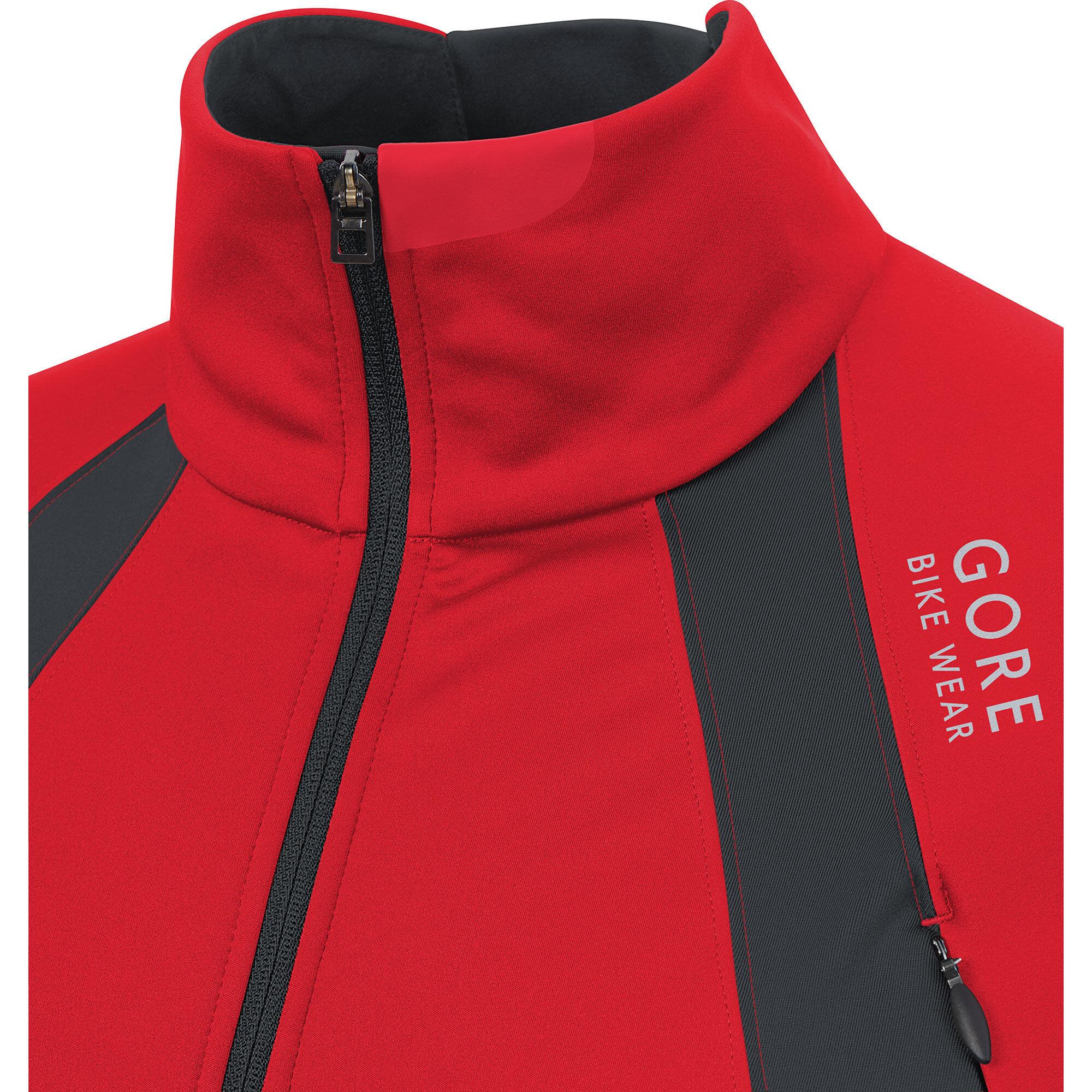 Gore Bike Wear Oxygen Gws Jacket Men Red At Bikester Co Uk